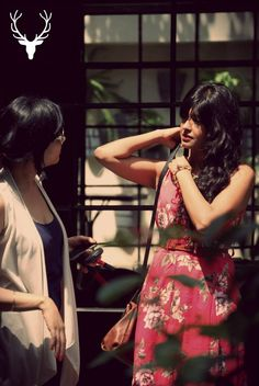 @Snigdha Manchanda Manchanda in conversation with the make-up artist during the event