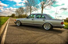 BENZTUNING | The Largest Photo Collection of Mercedes-Benz: Mercedes-Benz W126 500SEL on Breyton Wheels