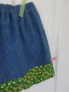 Simple girl's skirt