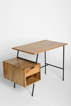 4040 Locust Paperclip Desk Let's ikea hack this son of a bitch: Vittsjo desk+Gerton table top+Lerberg leg+expedit 1unit shelf