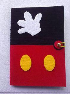 Capa de caderno EVA