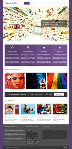 FREE HTML5 Responsive Enterprise/Portfolio Template: AmazingBiz | EGrappler http://egrappler.com/free-html5-responsive-enterpriseportfolio-template-amazingbiz/