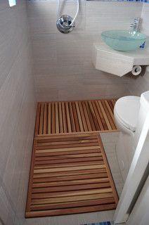 Thai style micro-bathroom addition - modern - bathroom - denver