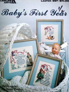Baby's First Year Six Designs By Carol Emmer by NeedANeedle