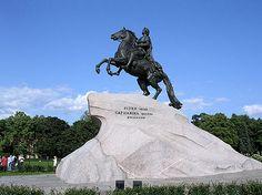 Peter the Great, Sankt Petersburg, Russia