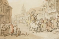 rowlandson, thomas the arrival of ||| other ||| sotheby's l13040lot6vynlen