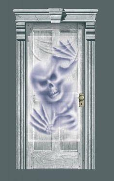 Skelet deurdecoratie voor Halloween bij Tuf-Tuf.NL