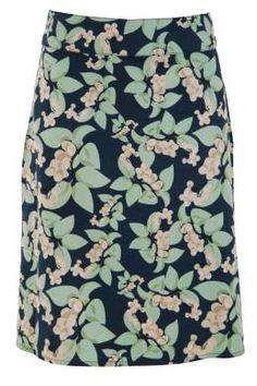 that bird label Adele A-Line Skirt Berry Delight - Womens Knee Length Skirts - Birdsnest Online Fashion Store