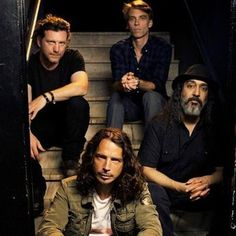 Soundgarden. Love me some Chris Cornell. Four times live!