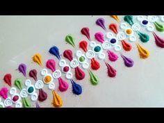 15 Ideas For Crochet Edging Patterns Baby Simple Easy Rangoli Designs Videos, Rangoli Designs Latest, Rangoli Border Designs, Colorful Rangoli Designs, Rangoli Ideas, Rangoli Designs Diwali, Rangoli Designs Images, Beautiful Rangoli Designs, Rangoli Borders