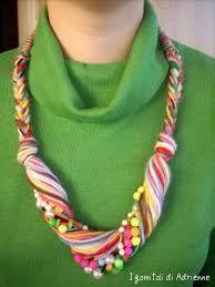Risultati immagini per collane di lana