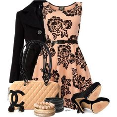 elegant outfit idea