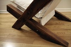 Barn Wood Lounge Chair by TicinoDesign on Etsy                                                                                                                                                                                 Mais