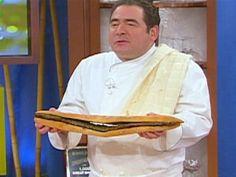 Skirt Steak with Chimichurri Sauce Recipe | Emeril Lagasse | Food Network
