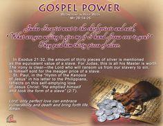 Gospel Power HOLY WEEK – Wednesday