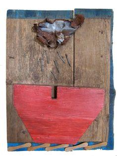 L'arca di Noè assemblaggio polimaterico di Fabio Accardo Palumbo