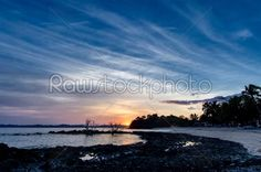 stock photo: andilana sunrise madagascar-Raw Stock Photo ID: 26387