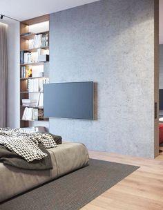 搶眼紅沙發!俄羅斯現代簡約風公寓 - DECOmyplace 新聞