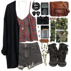 """organic."" by shaniaayr on Polyvore"