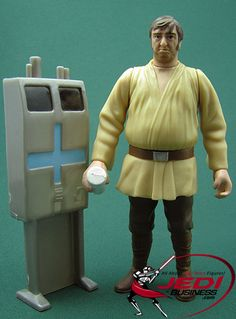 Star Wars Action Figure Wuher (With Droid Detector), Star Wars Power Of The Force 2
