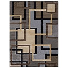 image of Home Dynamix Tribeca Links Area Rug in Multicolor