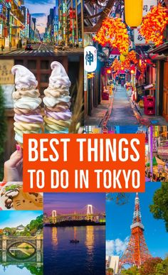 First time in Tokyo? Here's what you absolutely need to see and do!