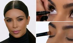 Kim Kardashian, 35, updated her app today with a smoky eye tutorial that's easy to recreate at home. Her go-to make-up artist Mario Dedivanovic details his top tips for nailing the smoldering evening  look.
