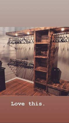 Schlafzimmer schrank Schlaf How Would You Like To Design Your Own Ranch House? Closet Bedroom, Home Bedroom, Bedroom Ideas, Diy Master Closet, Country Master Bedroom, Basement Master Bedroom, Basement Closet, Closet Space, Master Bedroom Wood Wall