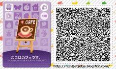 ☆ Happy Mori ☆ happy art café and QR design Set Tile#1<--