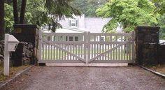 white wrought iron driveway gates - Google Search …