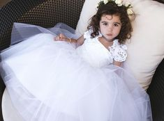 Today we dedicate it to our flower girls.