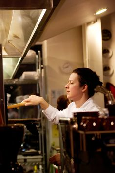 Sonja Finn, the chef and owner, of Dinette. (Photo: Jeff Swensen for The New York Times)