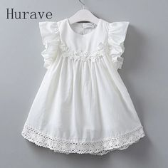 Cheap kids party costume, Buy Quality girls princess directly from China girls princess dress Suppliers: Hurave Summer New Lolita Style White Lace Vest Girl Dress Baby Girl Princess Dresses Age Children Clothes Kids Party Costume Baby Girl White Dress, Little Girl Dresses, Girls Dresses, Baby Dress Design, Frock Design, Sewing Kids Clothes, Children Clothes, Baby Frocks Designs, Baby Girl Sweaters