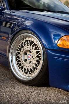 HRE Wheels BMW E46 M3 by 1013MM, via Flickr