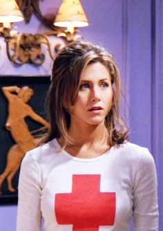 "She was gorgeous back then. She is still gorgeous now. Jennifer Aniston as Rachel Green in ""Friends"""