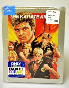 The Karate Kid - Movie Art Makeovers: 16 New Limited Edition Blu-ray Covers Unveiled by Gallery 1988 artists in Project Pop Art. Karate Kid 2010, The Karate Kid, Kai, Kid Cobra, Ralph Macchio, Movie Poster Art, Film Posters, Classic Films, Kung Fu