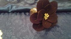 Fiore gold-brown