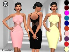 The Sims Resource: Trendy Dress by MartyP • Sims 4 Downloads