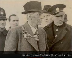 Jinnah Saab At London. History Of Pakistan, Pakistan Zindabad, British Asian, Pakistan Independence, Pakistan Armed Forces, Great Leaders, Muhammad Ali, Historical Pictures, Travel And Leisure
