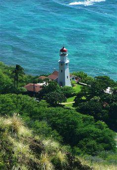 Makapuu Lighthouse, Oahu, Hawaii. #lighthouse #hawaii