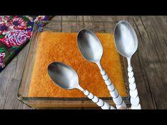 3 evőkanál hozzávaló / nagyon egyszerű / nagyon finom / A családja imádni fogja ezt az ízt - YouTube Muy Simple, Indian Desserts, Party Desserts, Saveur, No Bake Cake, Baking Recipes, Spoon, Deserts, Food And Drink