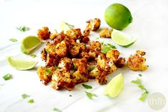Roasted Cauliflower with Chipolte and Lime (Vegan, Gluten-Free, Dairy-Free, Paleo-Friendly) Recipe on Yummly. @yummly #recipe