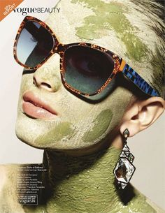 Vogue India June 2012 - Great Scapes Angela Jonsson by dirk bader - make-up: avni rambhia