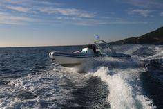 Wimbi Boats Pneumatique Bateau Yacht Semi-rigide Ocean W9i navigation Mer Bombard