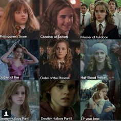 Day 3 Favorite Hogwarts student during Harry's time: Hermione Granger. Mundo Harry Potter, Harry Potter Puns, Harry Potter Pictures, Harry Potter Cast, Harry Potter Universal, Harry Potter Characters, Fans D'harry Potter, Potter Facts, Scorpius Rose