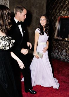July 9, 2011 - Duke  Duchess of Cambridge arrive at the 2011 BAFTA Brits To Watch Event at the Belasco Theatre in Los Angeles, California.