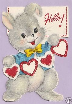 Valentine  Bunny Rabbit