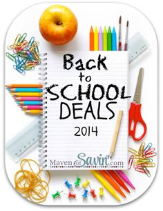 Use the 2015 Back to School Deals Comparison Chart to decide when to BUY! Shows current and last years price low in all categories. School Supplies Highschool, Diy School Supplies, Back To School Deals, School Notebooks, Homeschool Curriculum, Homeschooling, Montessori Homeschool, Supply List, Charlotte Mason