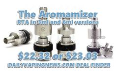 Trinity Aromamizer X Glass Tank | $26.99 | US Vendor