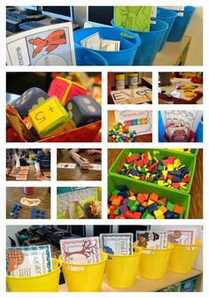 Math Centers on Day 6! - Tunstalls Teaching Tidbits